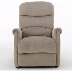 Halea Upholstered Lift Chair Cafe Latte – Christopher Knight Home