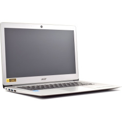 Acer 2-in-1 13.3 Touch-Screen Chromebook – 4GB Memory 32GB eMMC Flash Memory – Silver (Refurbished)