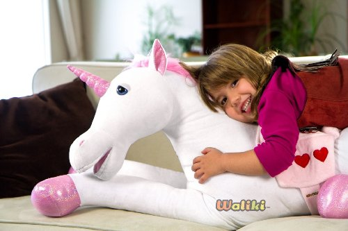 "WALIKI Toys Anna the Unicorn 42"" Plush Toy"