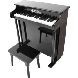 schoenhut 37 key traditional deluxe spinet toy piano black - Allshopathome-Best Price Comparison Website,Compare Prices & Save