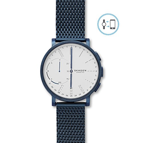 skagen hagen connected blue steel mesh hybrid smartwatch - Allshopathome-Best Price Comparison Website,Compare Prices & Save