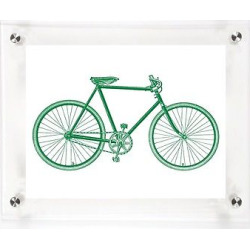 mitchell black bicycle his decorative framed wall canvas grass 12x15 - Allshopathome-Best Price Comparison Website,Compare Prices & Save