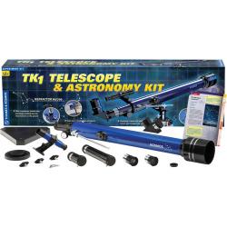 Thames & Kosmos TK1 Telescope & Astronomy Kit, Multicolor