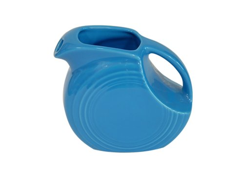 Fiesta 67-1/4-Ounce Large Disk Pitcher, Peacock