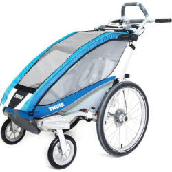 Thule Chariot CX 1 Multi-Sport Child Carrier & Stroller, Blue