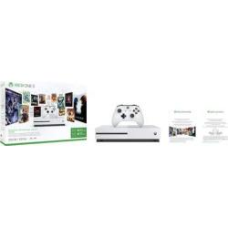 Xbox One S 500GB Starter Bundle, Multicolor