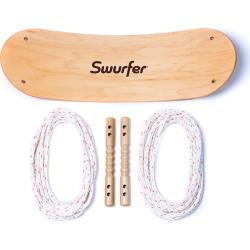 Flybar Swurfer Board Swing, Brown