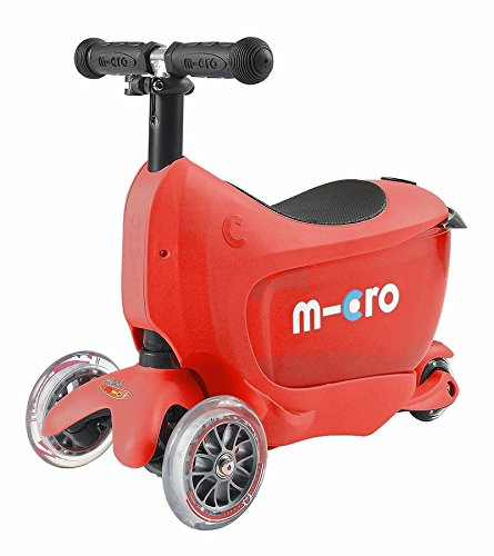 Micro Mini 2-Go Deluxe Scooter (Red)