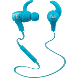 Monster iSport Bluetooth Wireless Earbuds, Blue