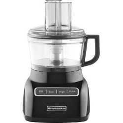 KitchenAid 7 Cup Food Processor – KFP0711, Onyx Black