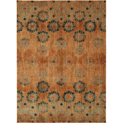 Mohawk® Home Studio In Bloom by Patina Vie EverStrand Floral Rug, Dark Red