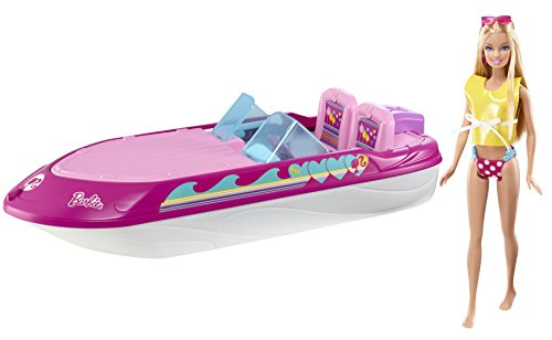 Barbie Glam Boat With Canopy and 1 Doll Seats 4