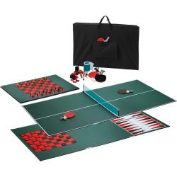 Viper Portable 3-in-1 Table Tennis Top, Multicolor
