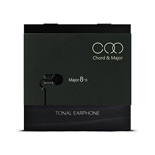 Chord & Major 8'13 Rock Tonal Earphone – Specially Tuned Rock Music IEM with Sandalwood Body and Pinewood Presentation Box