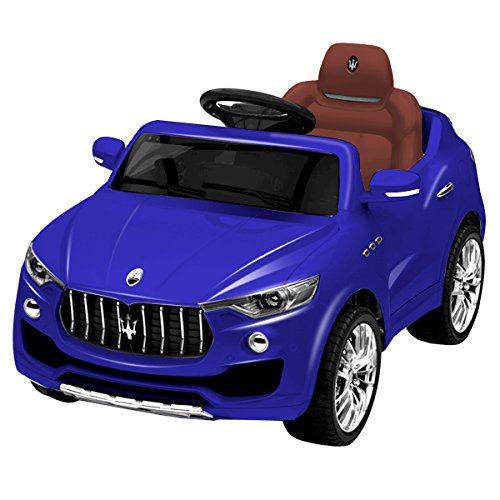 Costzon 6V Licensed Maserati Kids Ride On Car Opening Doors with Parental Remote Control, Swing Function (Blue)