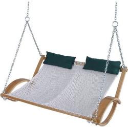 Original Pawleys Island Polyester Double Rope Swing – White, Ivory