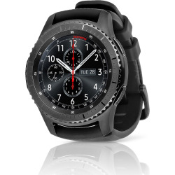 Samsung Gear S3 Frontier (AT & T) Smartwatch w/ Rubber Band (S) – Black (Refurbished)