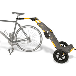 Burley Travoy Bike Trailer, Yellow