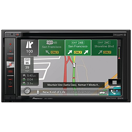 Pioneer AVIC-5100NEX In-Dash Navigation AV Receiver with 6.2″ WVGA Touchscreen Display