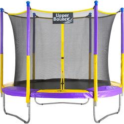 Upper Bounce 9-Ft. Trampoline & Safety Enclosure Set, Purple