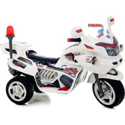 Lil' Rider Police Connection Bike Ride-On Trike, White