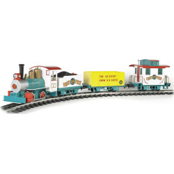 """Bachmann Trains Ringling Bros. And Barnum & Bailey Li'L Big Top Ready To Run Electric Train Set – Large """"G"""" Scale, Multicolor"""