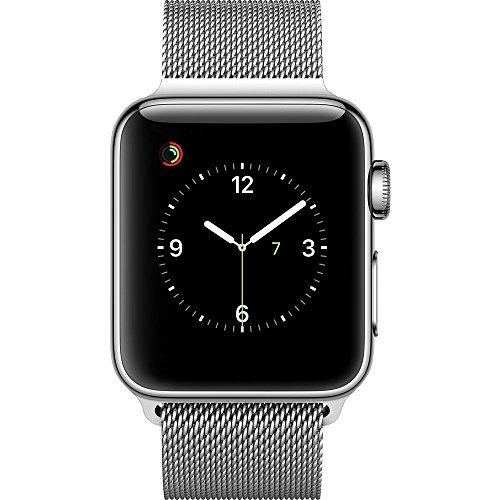 Apple Watch Gen 2 Series 2 38mm Stainless Steel – Milanese Loop MNP62LL/A