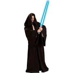 Star Wars Jedi Robe Deluxe Adult Costume – One Size Fits Most, Adult Unisex, Brown