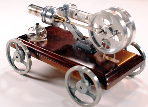 Stirling Engine Vehicle