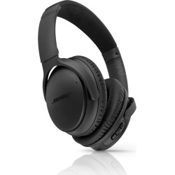 Bose QuietComfort 35 Noise-Canceling Bluetooth Headphones – Black (Used)