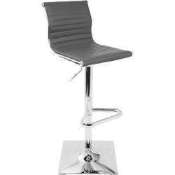 Adjustable 25″- 32″ Barstool Gray – LumiSource