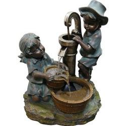 20 Outdoor Water Fountain – Bronze – Alpine Corporation