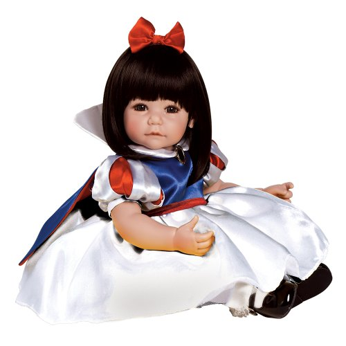 Adora Toddler Classic Snow White 20″ Girl Weighted Doll Gift Set for Children 6+ Huggable Vinyl Cuddly Snuggle Soft Body Toy
