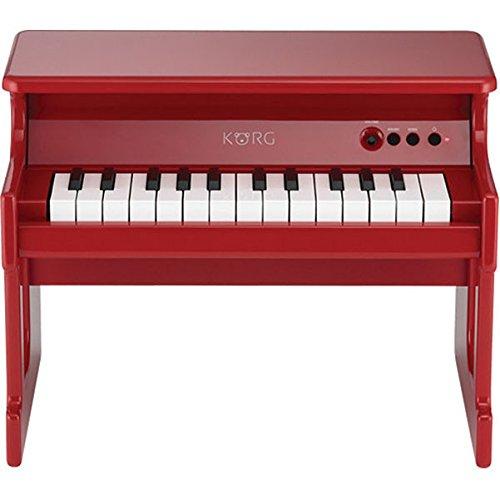 Korg tinyPiano Digital Toy Piano – Red