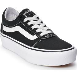 Vans Ward Women's Platform Skate Shoes, Size: 5, Black