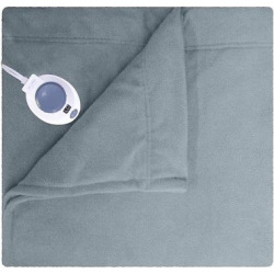 Micro Fleece Warming Blanket – Gray Full
