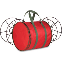 Honey-Can-Do Storage Reels & Bag, Red