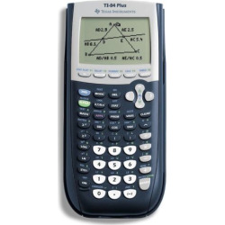 Texas Instruments TI-84 Plus Graphing Calculator, Multicolor