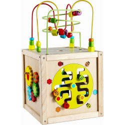 Classic Toy Multi-Activity Cube, Multicolor