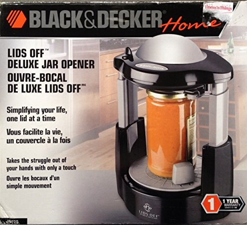 Black & Decker Lids Off Jar Opener Jw275