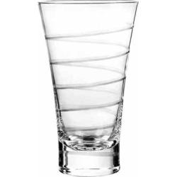 Qualia Glass Vortex 4-pc. Highball Glass Set, Multicolor