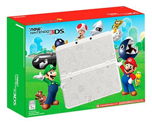 Nintendo New 3DS – Super Mario White Edition [Discontinued]