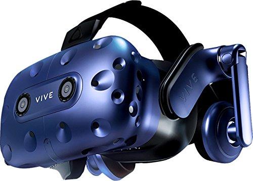 HTC VIVE Pro (2018) Virtual Reality Headset + VIVE Accessory Bundle – European Version