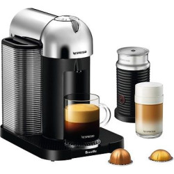 Nespresso VertuoLine Coffee and Espresso Machine Bundle, 8 cups