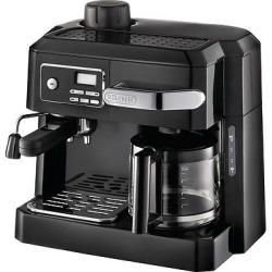 DeLonghi 3-in-1 Combination Espresso and Coffee Maker – Black