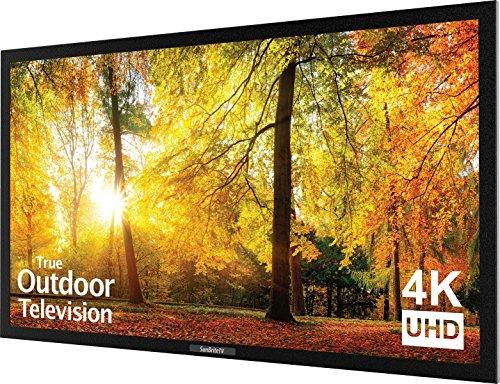 SunBriteTV SE 43-Inch Weatherproof Outdoor Television – 4K UltraHD LED TV for Permanent Outside Installation – SB-SE-43-4K-BL