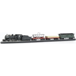 Bachmann Trains Blue Star Smart Phone Controlled HO Scale Ready To Run Electric Train Set, Multicolor