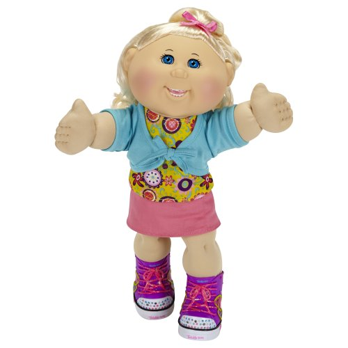 Cabbage Patch Kids Twinkle Toes: Caucasian Girl Doll, Blonde, Blue Eyes