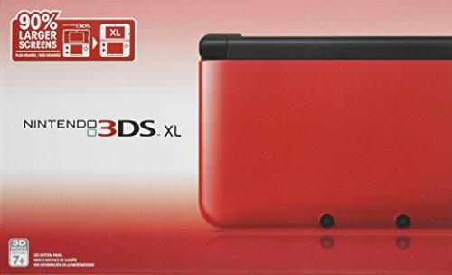 Nintendo 3DS XL – Red/Black