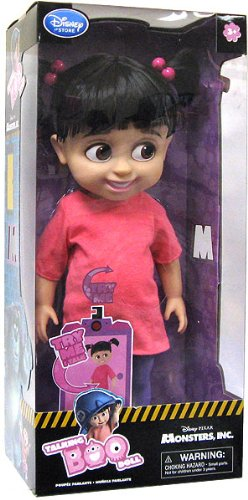 Disney Monsters Inc. Exclusive 16 Inch Deluxe Talking Doll Boo